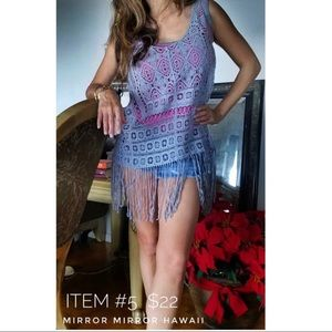 Tops - Bohemian Macrame Top